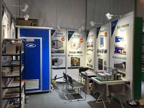 Our booth at Canton Fair1