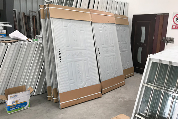Doors used to make container house