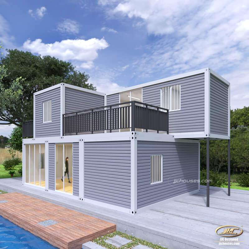 Detachable Flat Pack Container House in the open air