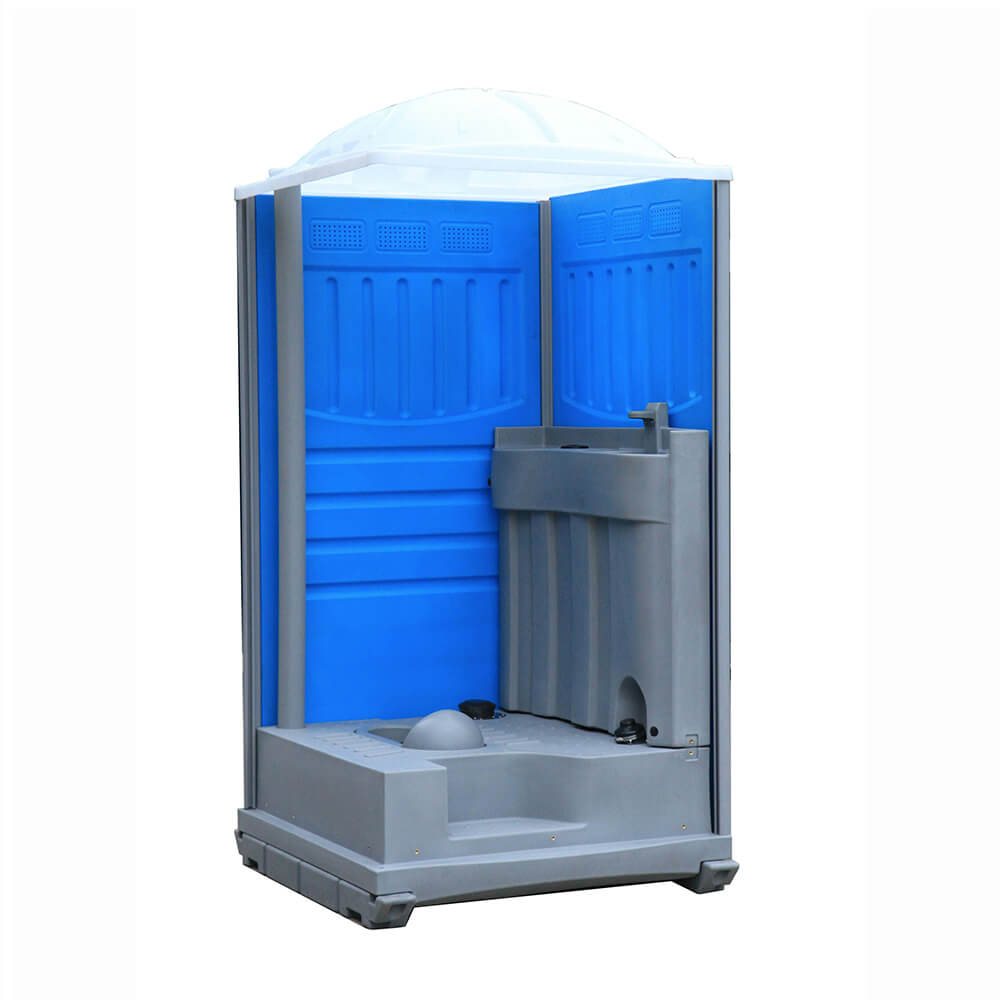 Internal structure of a Plastic Portable Toilet