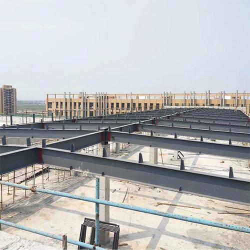 The framework of a Steel Prefab Warehouse