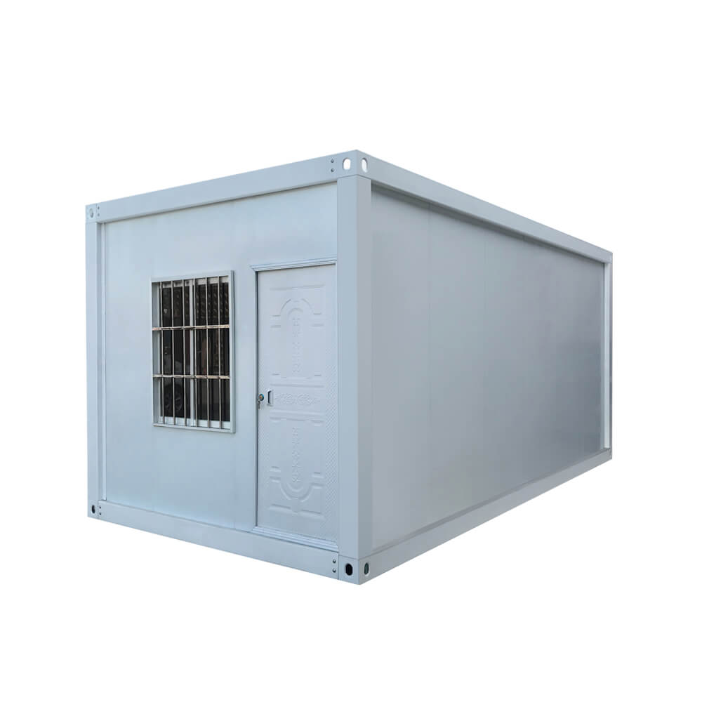 Detachable flat pack container house
