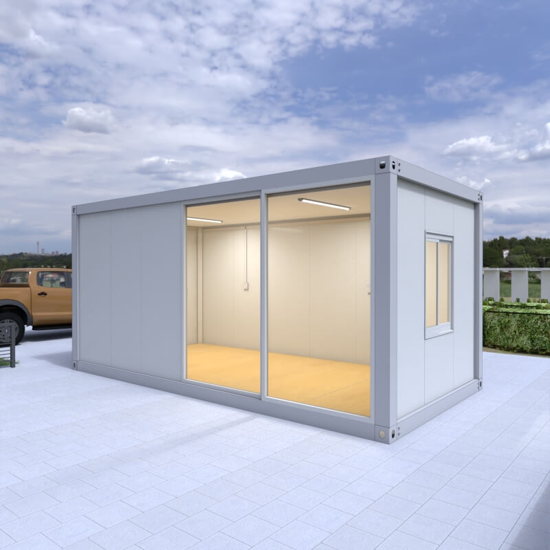 Detachable Flat Pack Container House in the open air2