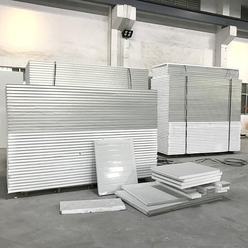 EPS Sandwich Panels in warehouse