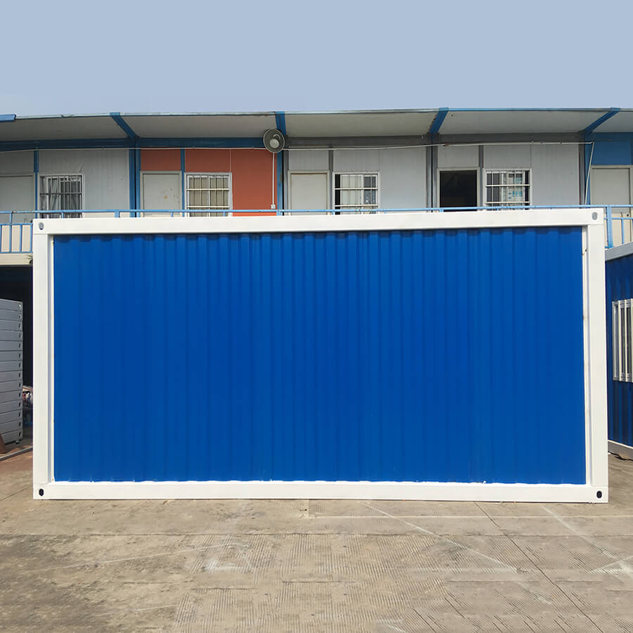 White frame detachable Shipping Container house