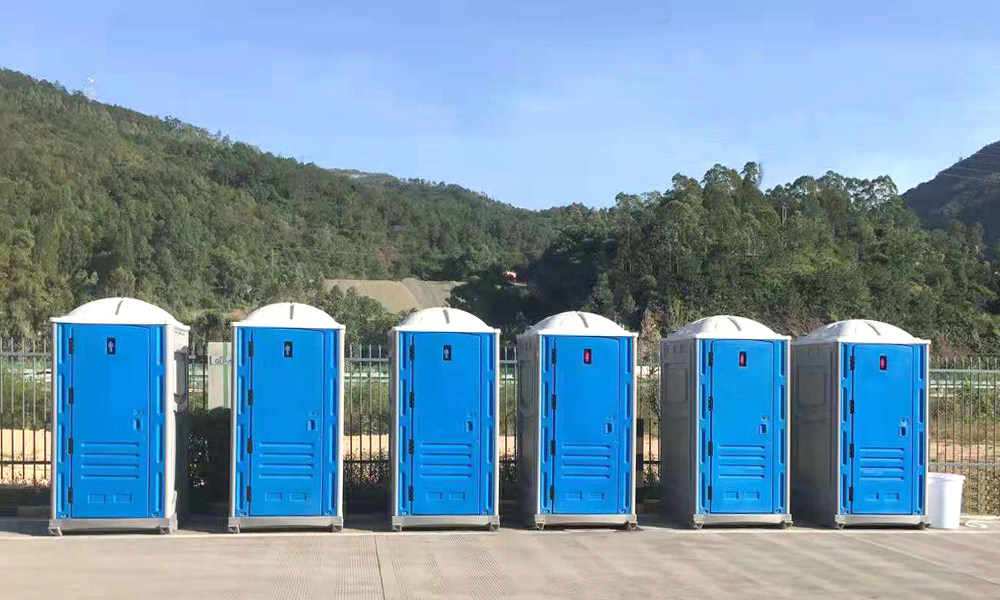 easy install portable plastic toilet