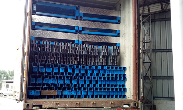 structural steel pipe beams