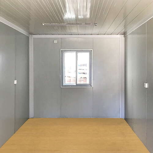 inside a Detachable Shipping Container House