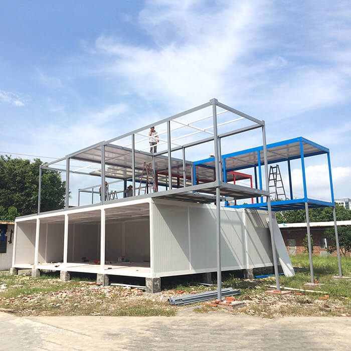 appearance of Detachable Container House