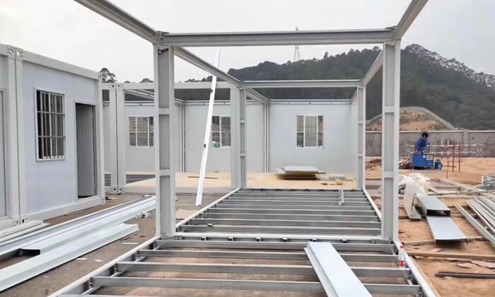 strong detachable container house structure