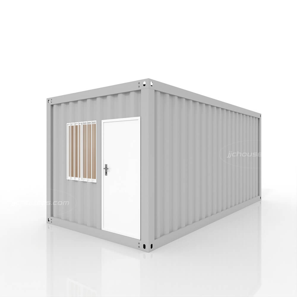 grey shipping container