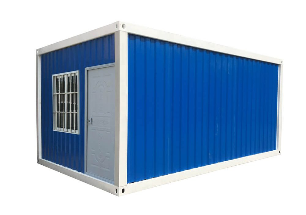 blue Detachable Shipping Container House
