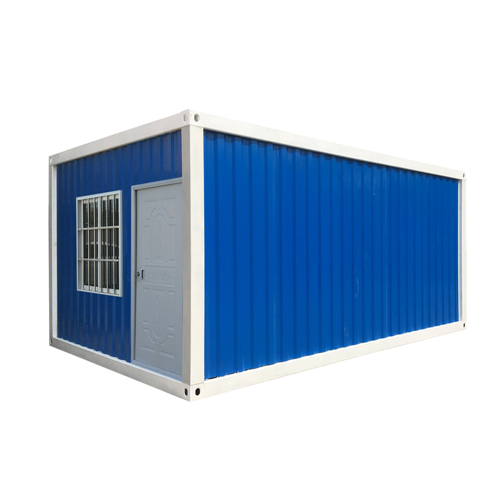 blue color Detachable Shipping Container House
