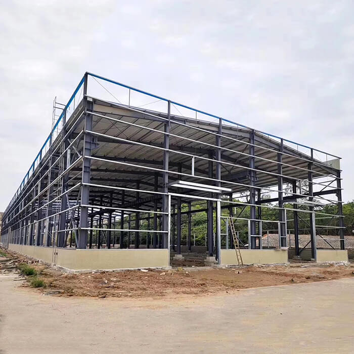 steel prefab warehouse structure