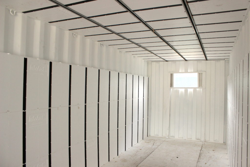 Insulate a Shipping Container on the Outside