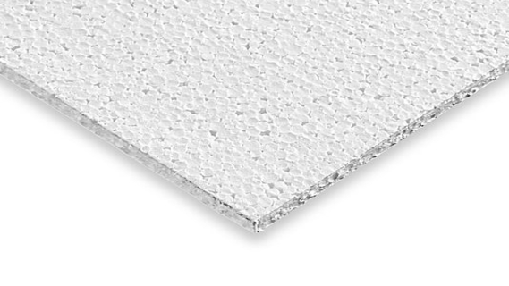 polystyrene material for thermal insulation