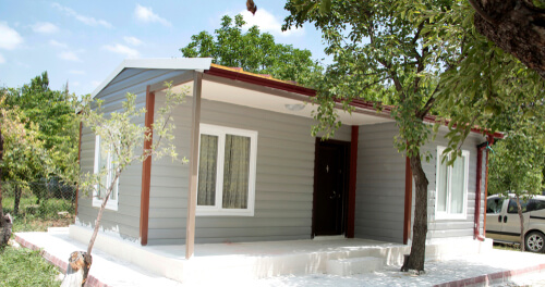 prefabricated house new