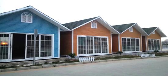 small prefab house image