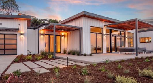 modular home house build
