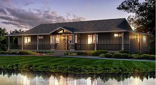 The Riverbend Prefab Home
