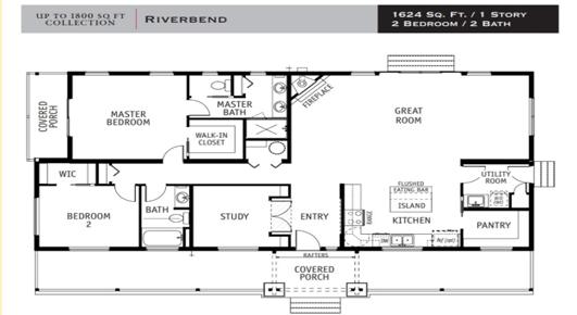 The Riverbend Floor Plan