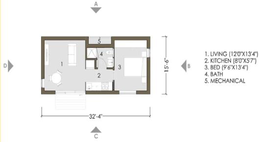 LivingHome Floor Plan