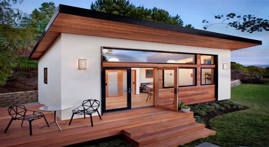 Modern Tiny Prefab Home