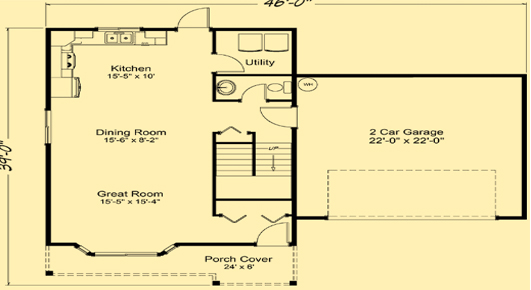 Summer Meadows Main Floor Plan