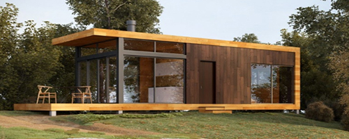 360 Off-the-grid Cabin