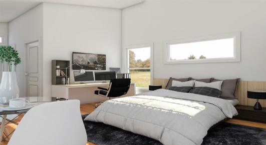 Cozy 300 SF Studio Home - Interior View 2