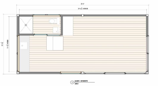 K5 prefab house floorplan