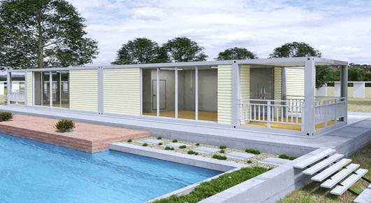 Concrete house kit