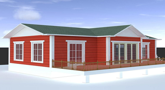 JJC small prefab home