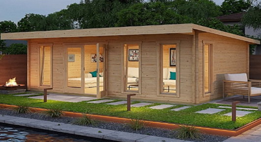 Aruba small prefab house