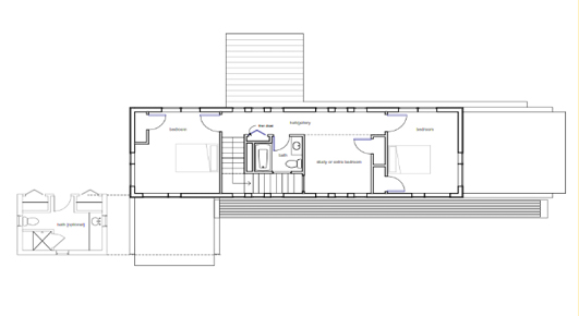 R1 small prefab floorplan 1